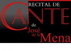 Recital de cante de José de la Mena